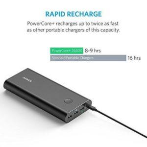Baterie externa premium Anker PowerCore+ 26800